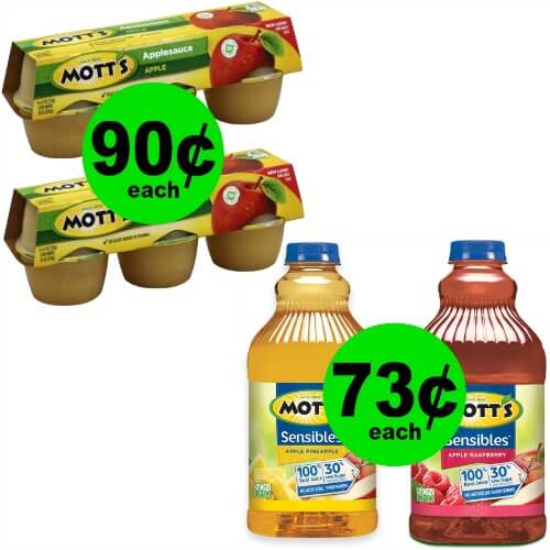 ?Grab Mott's Juice for 73¢ or Applesauce for 90¢ at Publix! (5/23-5/29 or 5/24-5/30)