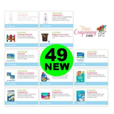 There Are (49) New Coupons! Save on Johnson's Baby, Claritin & More!