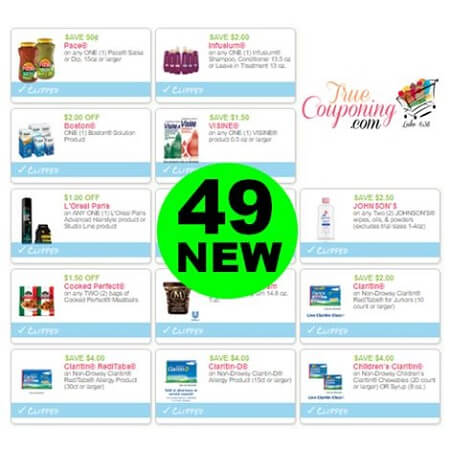 Don't Miss the (49) New Coupons This Week! Save on Infusium, Visine & More!