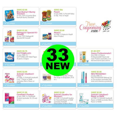 Yahoo For Thirty-Three (33) New Coupons! Save on Scrubbing Bubbles, Suave & More!