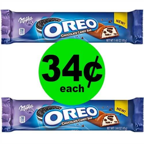 🍫CHOCOLATE Alert! Oreo Candy Bars Are 34¢ At CVS! (Ends 5/26)