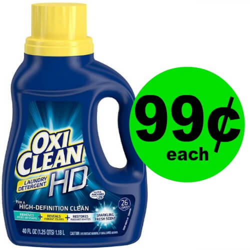 ?OxiClean Laundry Detergent Only 99¢ Each At CVS! (Expiring Tomorrow 5/26)