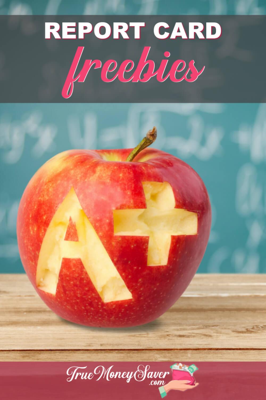Report Card FREEbies & Rewards For Good Grades!