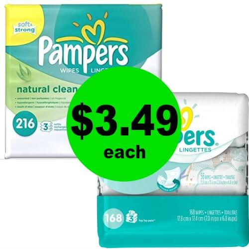2¢ per Wipe! Pampers Wipes Refills are $3.49 at Publix! (Ends 5/29 Or 5/30)