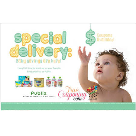 """Publix """"Special Delivery: Baby Savings Are Here!"""" Coupon Booklet & Printables! (Valid 5/2 or 5/3 to 5/30)"""