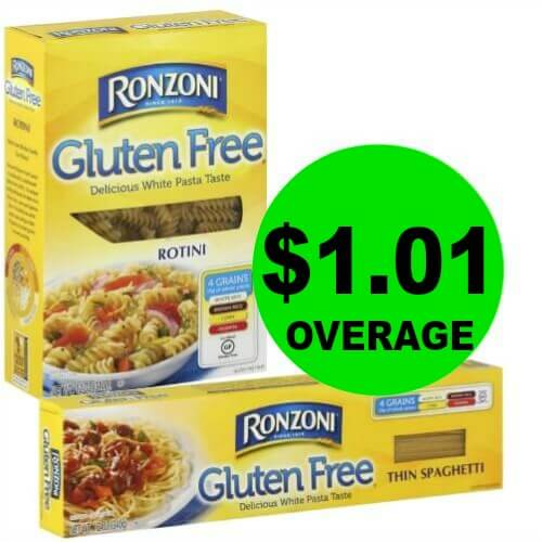 Get Ready for $1.01 Overage? on Ronzoni Gluten Free Pasta at Publix! (5/23-5/29 or 5/24-5/30)