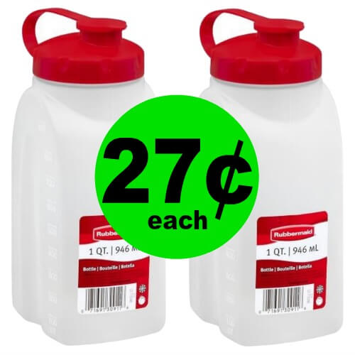 💨Head to Publix for 27¢ Rubbermaid Mixer Mate Bottles! (Ends 6/5 Or 6/6)