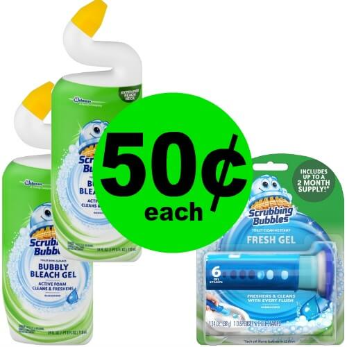 ?Print For 50¢ Scrubbing Bubbles Toilet Cleaning Products at Publix! (5/19-6/1)