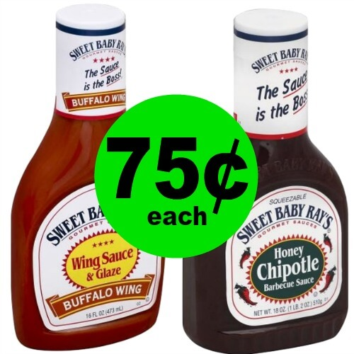 ?Sweet Baby Ray's Sauces Are Just $.75 At Publix! That's 70% Off! (Expiring 5/29 or 5/30)