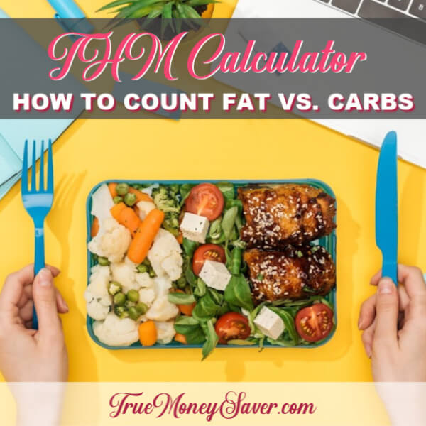 THM Calculator: How To Count Fat vs Carbs On Trim Healthy Mama