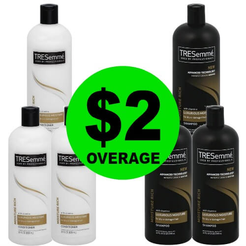 ?Hurry! Get Your $2 Overage Tresemme Hair Care At Publix! (Expiring 5/15 or 5/16)