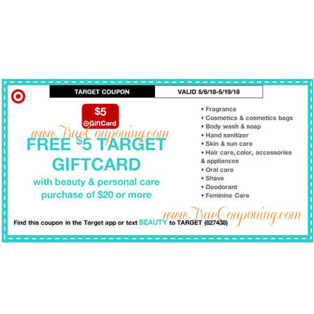 This Sunday (5/6/18) We're Getting Beauty & Pet Target Coupons!