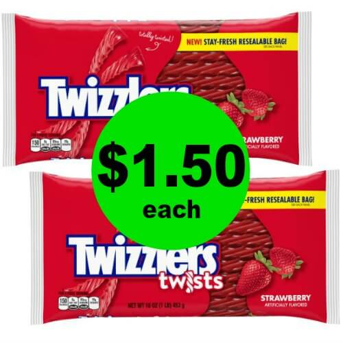 No Coupon Needed! $1.50 Twizzlers Candy at CVS! (Ends 6/2)