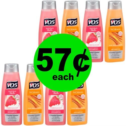 ??♀️ VO5 Shampoo and Conditioner Only 57¢ at Publix! (Ends 6/1)