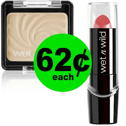 Wet N Wild Cosmetics Are 62¢ Each at CVS! (Ends 6/2)