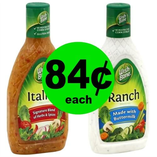 Wish-Bone Dressing for 84¢ at Publix! (Ends 5/15 or 5/16)