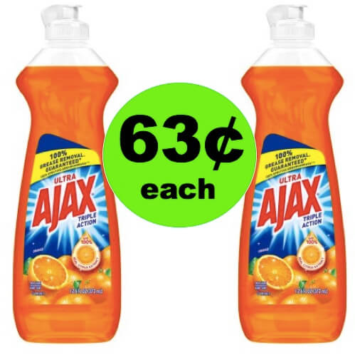 (NLA) PRINT NOW for 63¢ Ajax Dish Soap at Walmart!