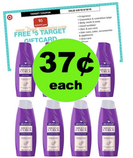 Bring Back the Bounce with 37¢ Aussie Miracle Curls at Target! (5/6-5/19)