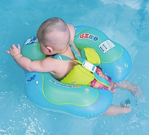 Baby Can Enjoy the Pool with This Inflatable Pool Float