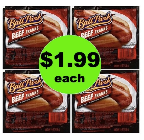 Get Grilling with $1.99 Ball Park Angus Beef Franks at Target! (Ends 5/12)