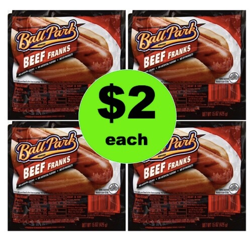 Fire Up the Grill for $2 Ball Park Meat Franks at Winn Dixie! (Ends 5/1)