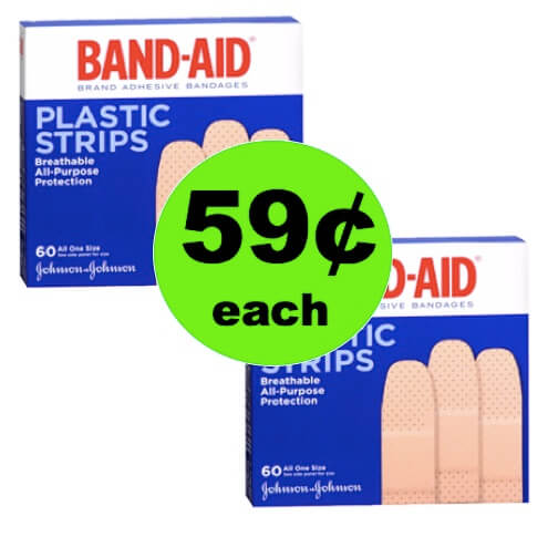 Make Those Boo Boos Better with 59¢ Band-Aid Bandages at Walgreens! (Ends 6/2)
