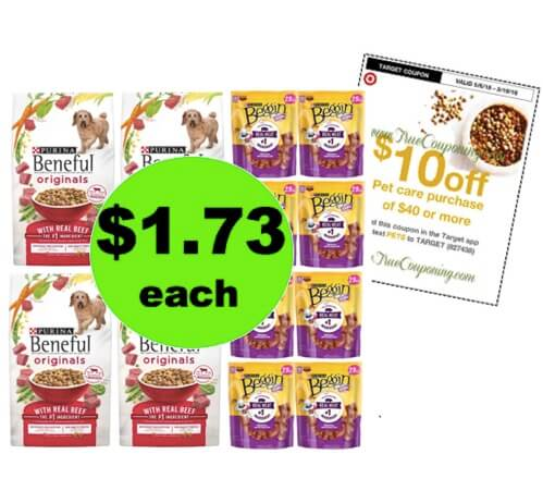 Tails Will Be Wagging for $1.73 Beneful Dog Food & Beggin Treats at Target! (Ends 5/12)