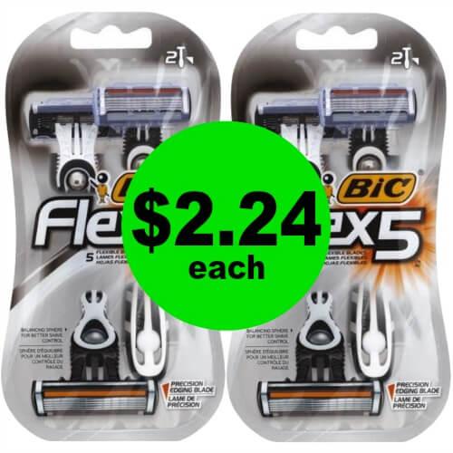?Print For $2.24 Bic Flex5 Razors at Publix! (Ends 6/1)