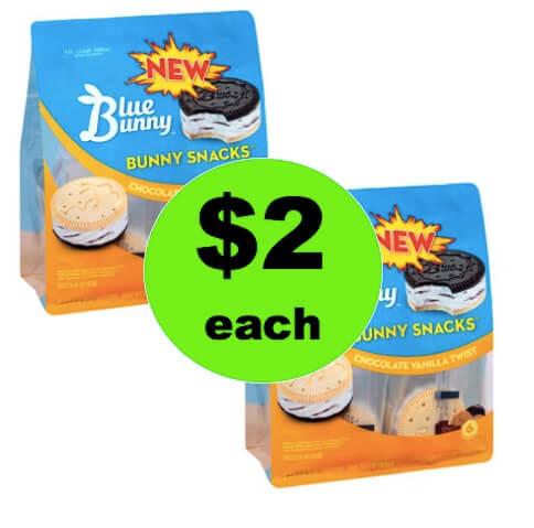 YAY for $2 Blue Bunny Ice Cream Snacks at Winn Dixie! (Ends 5/8)