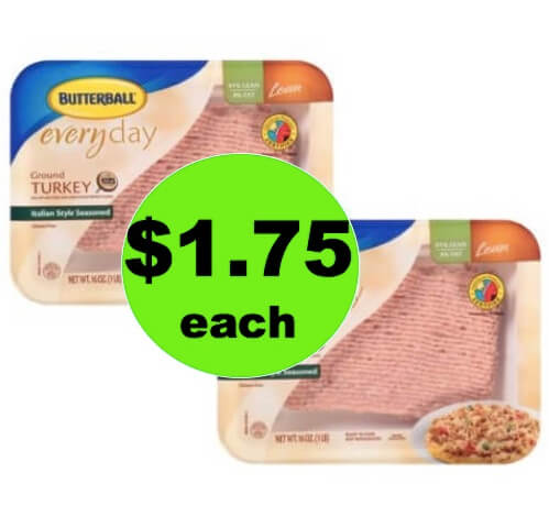 Pick Up Butterball Ground Turkey Only $1.75 Each at Winn Dixie! (Ends 5/15)