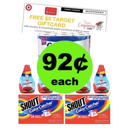 Just $7.39 for (8) Laundry & Household Items at Target! (Ends 5/19)