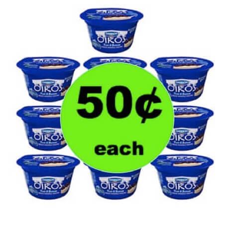 STOCK UP on 50¢ Dannon Yogurt at Winn Dixie! (Ends 5/15)