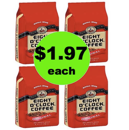 PRINT NOW for $1.67 Eight O Clock Coffee Bags at Target! (Ends 5/12)