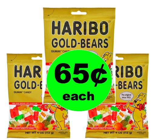 Grab a Chewy Snack with 65¢ Haribo Gummies at Walgreens! (Ends 5/19)