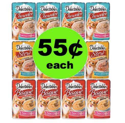 Hey Kitty Kitty! Get 55¢ Hartz Delectable Wet Cat Treats at Winn Dixie! (Ends 5/8)