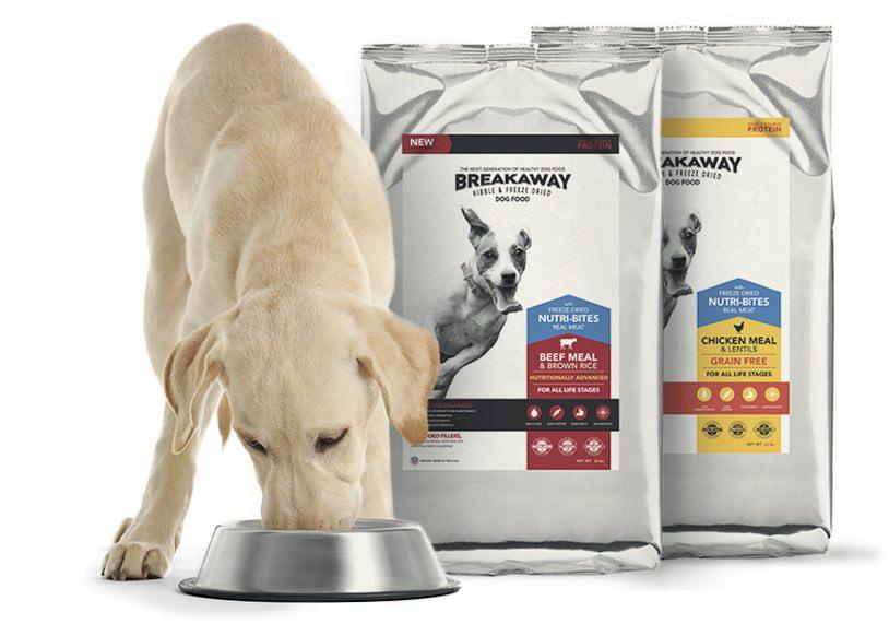 FREE Breakaway Dog Food!