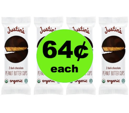 Enjoy 64¢ Justin's Organic Peanut Butter Cups at Target! (Ends 6/2)
