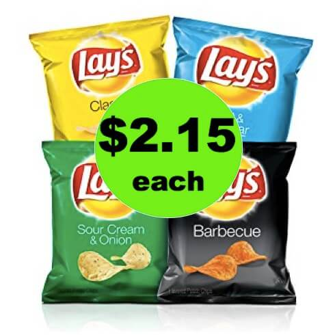 SNACK ON with Lay's Family Size Chips Only $2.15 at Winn Dixie! (Ends 5/8)