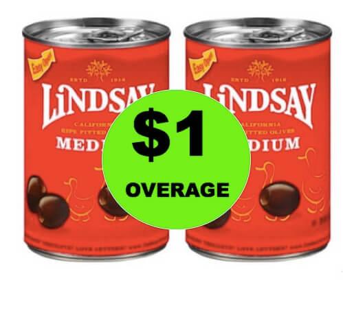 SCORE $1 Overage on Lindsay Olives at Walgreens! (Ends 5/12)