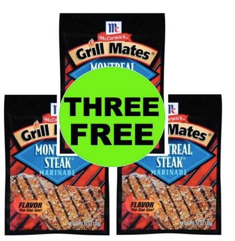 🔥 Three (3) Freebies McCormick Grill Mates Mixes At Walmart! (Ends 5/28)