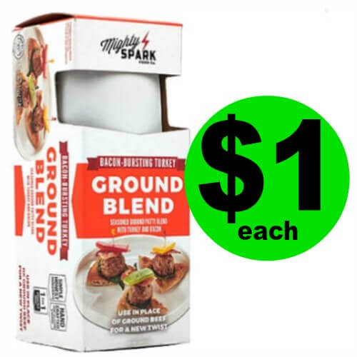 ?Mighty Spark Ground Meat Pound, $1 At Publix! (Ends 5/22 Or 5/23)