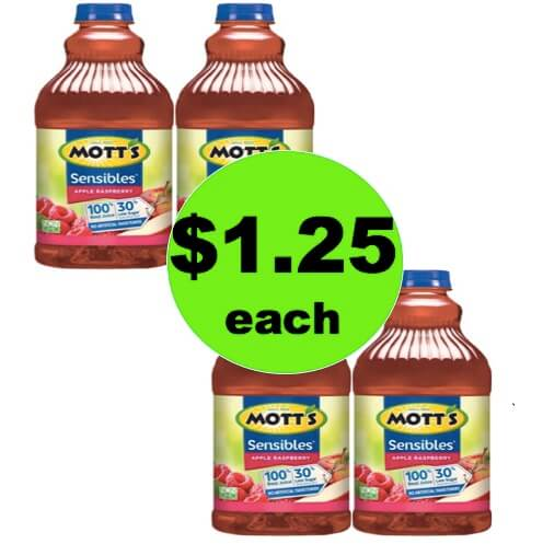 SCORE $1.25 Mott's Apple Juice 64oz Bottles at Winn Dixie! (Ends 5/15)