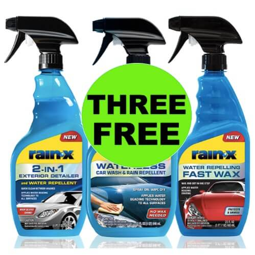 (Updated) FATHER'S DAY FREEBIE!  FREE Rain-X Product at Walmart (After Rebate)! (Ends 6/30)
