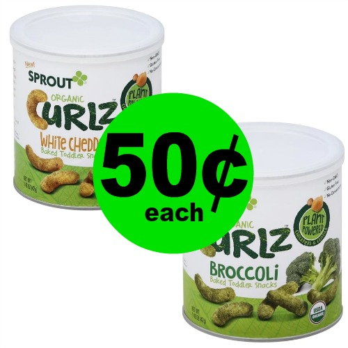 ??Sprout Baby Snacks Are 50¢ (Reg. $3.49) at Publix!
