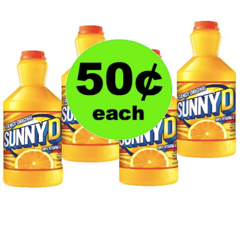 Grab Delicious Sunny Delight Only 50¢ Each at Winn Dixie! (Ends 5/8)