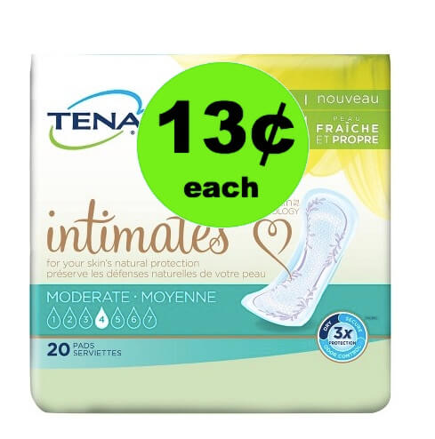 Pick Up 13¢ Tena Pads (Plus $2 SavingStar Offer) at Target! (Ends 5/5)