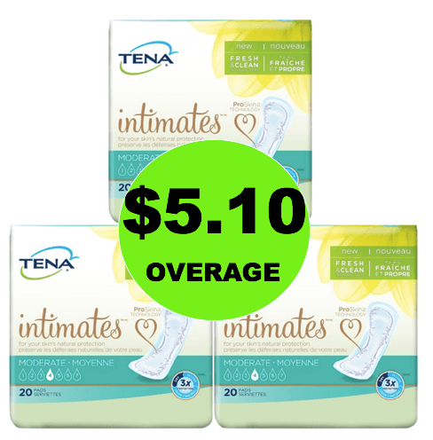FREE + $5.10 Overage on Tena Pads at Target! (Ends 5/17)