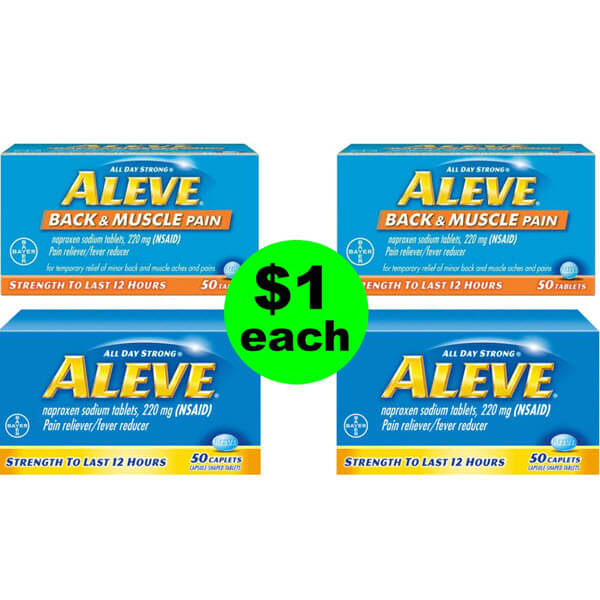 💵 $1 💵 Aleve Pain Relievers At Publix (Save 87% Off)! (Ends 6/17)
