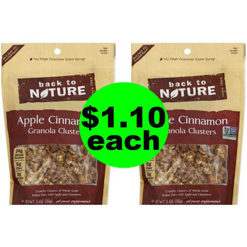 ? $1.10 Back To Nature Granola At Publix! (Ends 7/3 Or 7/4)