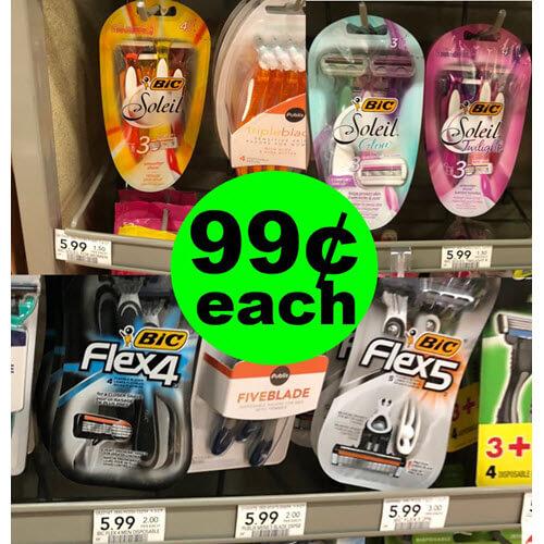 Publix Deal: 🧔🏻 99¢ BIC Flex4 Disposable Razors! (4/6-4/19)
